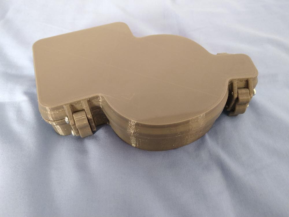 Caja Teclado 3D