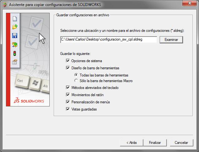 Imagen guardar configuracion - segundo paso