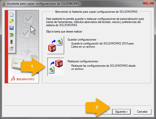 Imagen restaurar configuracion - segundo paso