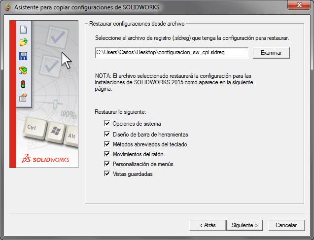 Imagen restaurar configuracion - tercer paso