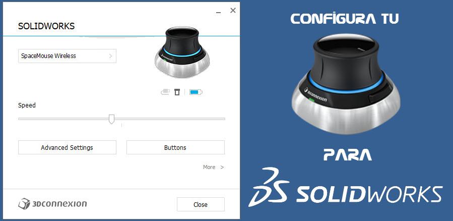 configurar un Ratón 3D o SpaceMouse
