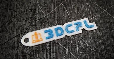 Llavero impreso 3DCPL