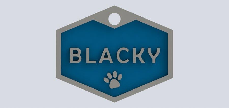 colgante personalizado perro