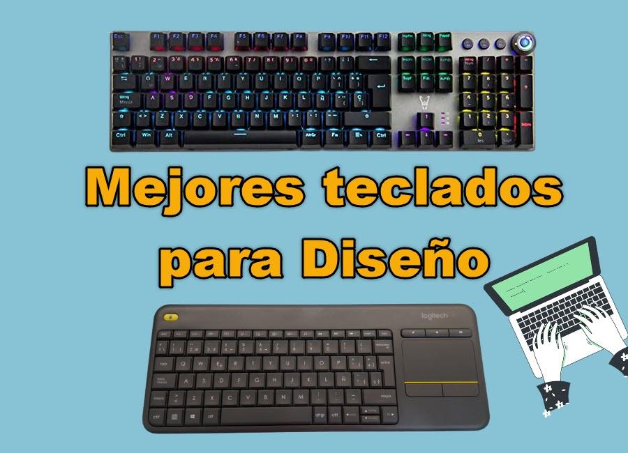 mejores teclados para diseñar