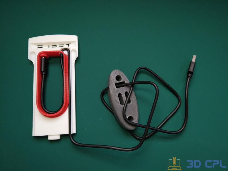 2- Montaje Tesla SuperCharger Phone Charger