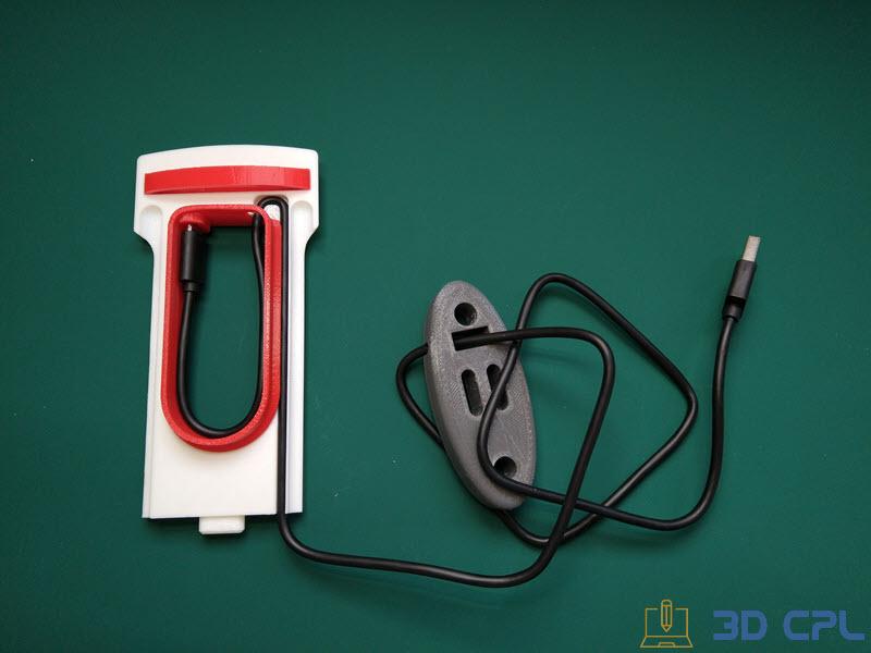 3- Montaje Tesla SuperCharger Phone Charger