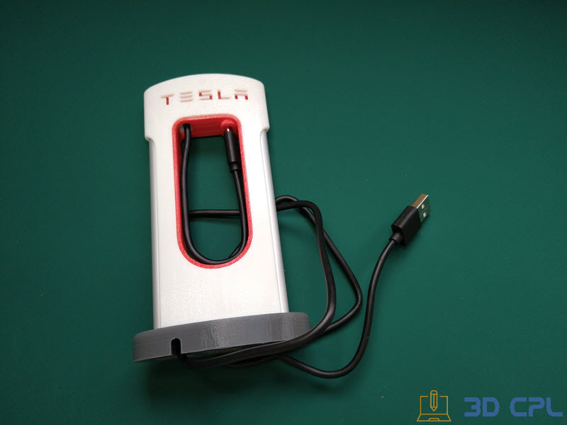 6- Montaje Tesla SuperCharger Phone Charger