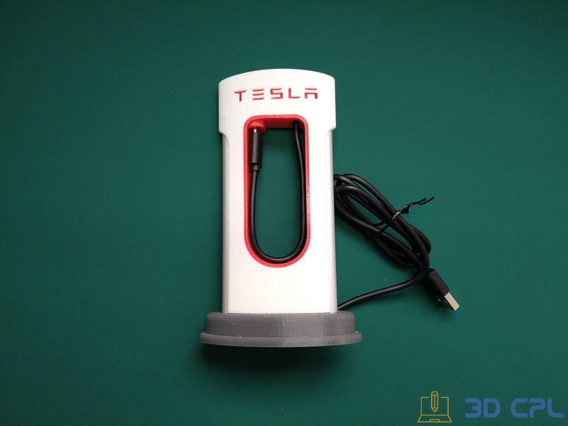 7- Montaje Tesla SuperCharger Phone Charger