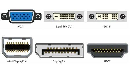 puertos conexion monitor ordenador