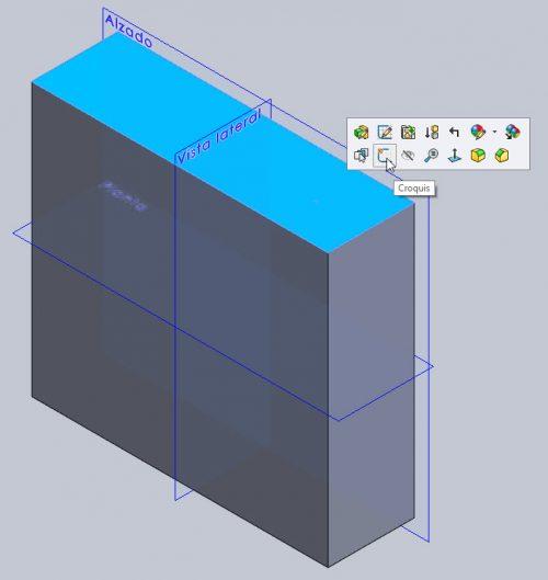 solido 3D dibujado